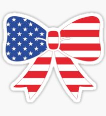 American Bow Sticker