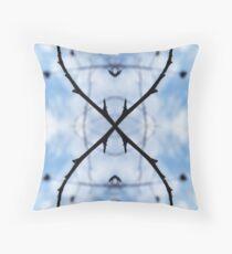 Saturnalian Structure #2 Throw Pillow