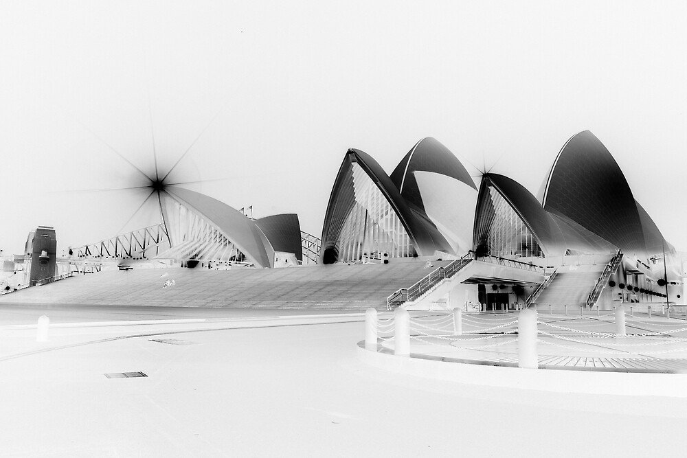Sydney Opera House floating by Achim Casties