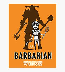AFTER SCHOOL WARRIORS: BARBARIAN Photographic Print