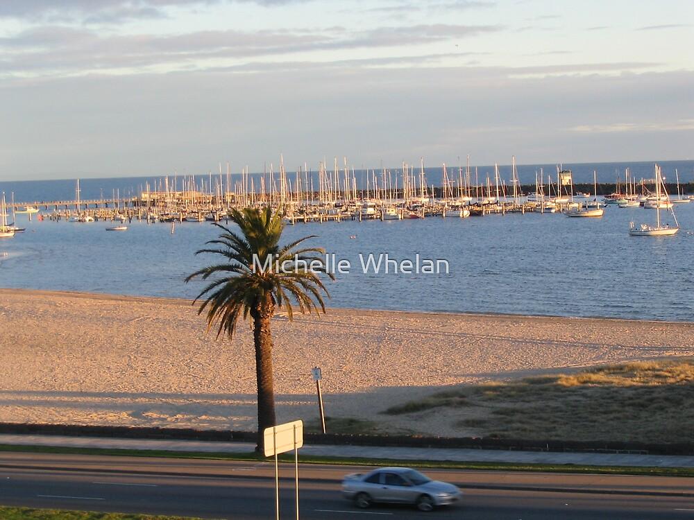st kilda beach by Michelle Whelan