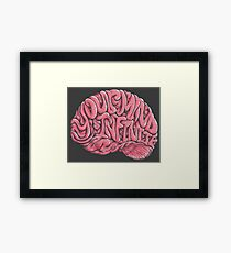 Your Mind is Infinite Framed Print