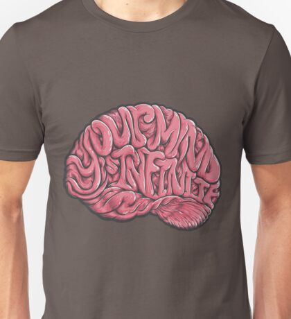 Your Mind is Infinite Unisex T-Shirt