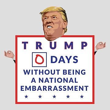 Donald Trump: National Embarrassment by baridesign