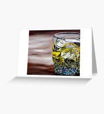 Scotch on the Rocks Greeting Card