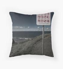 A Public Place Throw Pillow