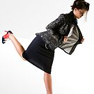 Gills and Tails Collection 'Tailored Jacket' by Brooke Hyrapiet