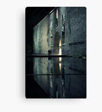 Portal reflection Canvas Print