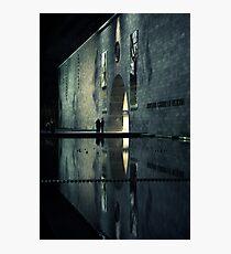 Portal reflection Photographic Print