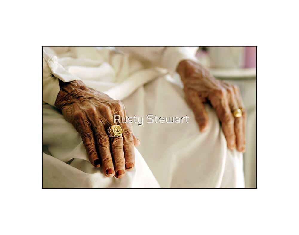 Hands... by Rusty Stewart