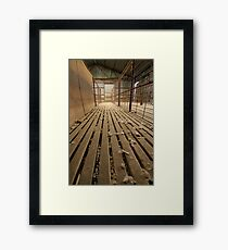 Shearing Shed  Framed Print