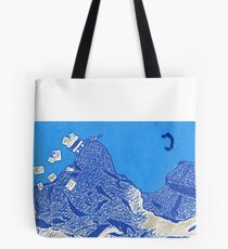 Snail Mail - Mountains Tote Bag