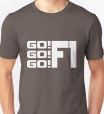 'Go Go Go' Formula 1 Design T-Shirt