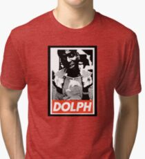 Young Dolph obey Tri-blend T-Shirt