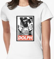 Young Dolph obey Women's Fitted T-Shirt