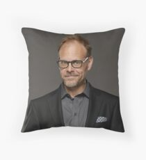 Alton Brown Throw Pillow