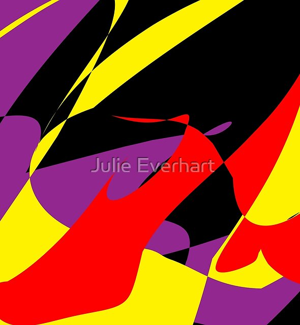 The Red Shoe by Julie Everhart by Julie Everhart
