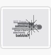 Babble Sticker