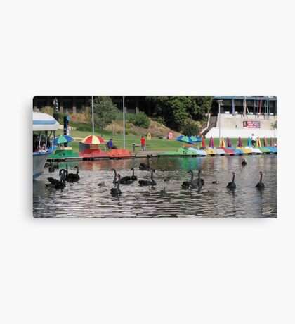 Just One Big Party Canvas Print