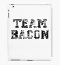 Team Bacon College Sports Jersey Style Team Cute Gift T Shirt Meat Lover  iPad Case/Skin