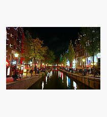 Red Light District, Amsterdam Photographic Print