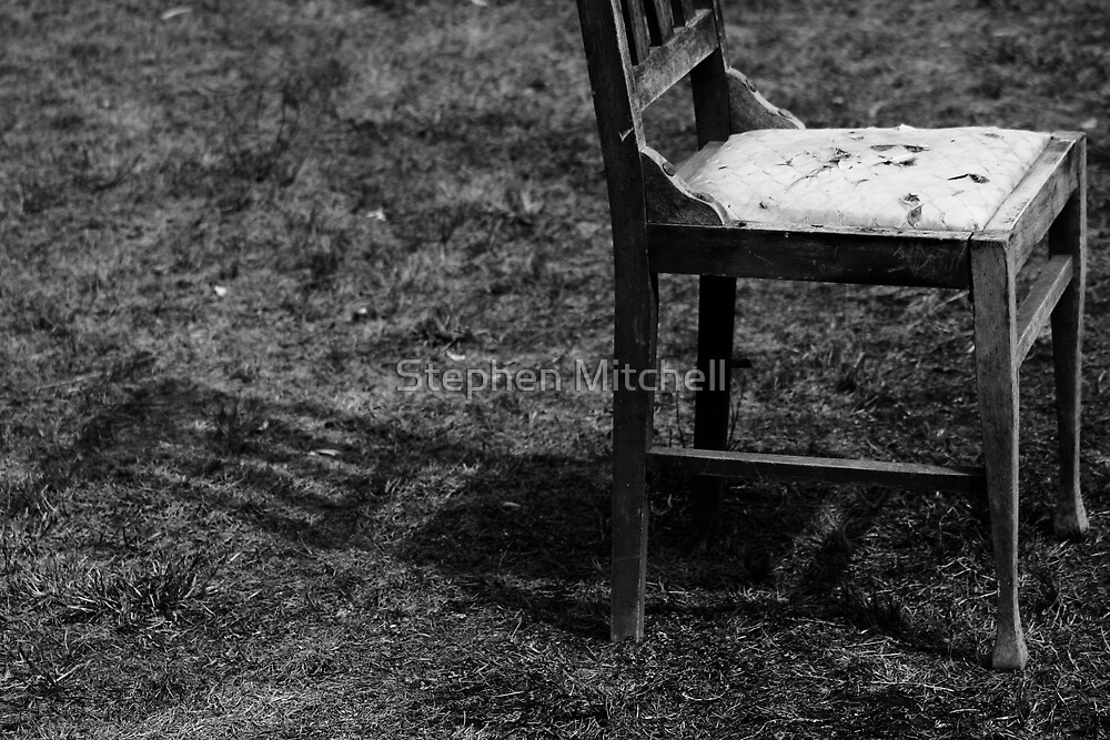 Chair Shadow by Stephen Mitchell
