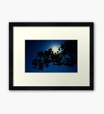 Dark Light Framed Print