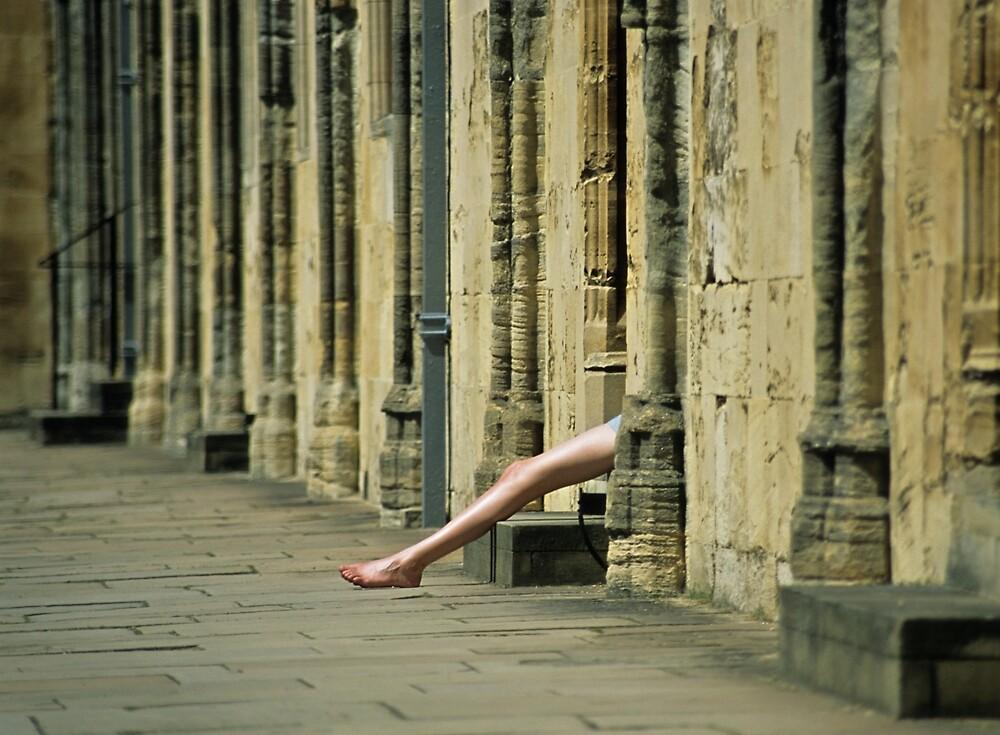 Oxford Legs by Kasia Nowak