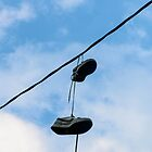 shoe tossing by anthonyxbailey