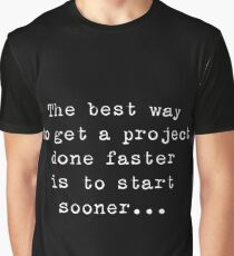 About Software Projects - thought number 1 Graphic T-Shirt