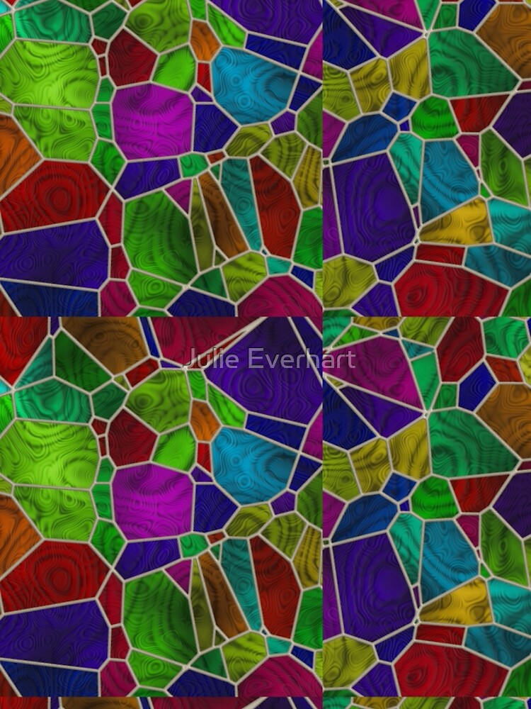 Stained Glass Design by Julie Everhart by julev69