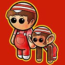 SPEED RACER - SPRITLE & CHIM CHIM Pooterbellies by Pat McNeely