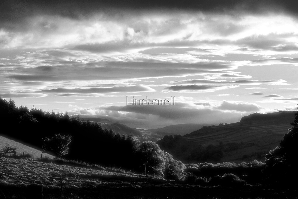 Swaledale Valley by Lindamell