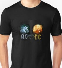 Tesla Edison AC DC - T-Shirt!!!! - www.shirtdorks.com Unisex T-Shirt