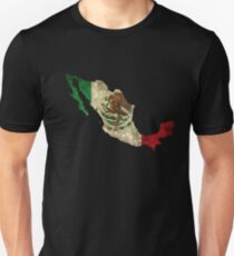 Mexico Flag / Map Unisex T-Shirt