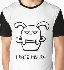 I Hate My Job -  Illustration Graphic T-Shirt