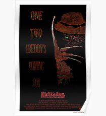 Póster Freddy's Coming For You