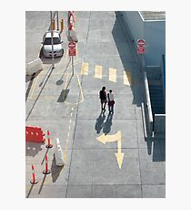 pedestrian crossing Photographic Print