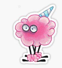 Cotton Candy Creature Sticker