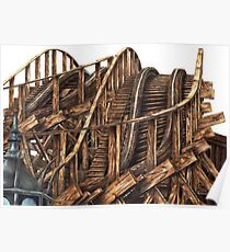 Wooden Coaster Poster