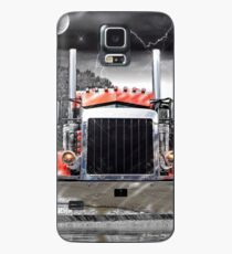 Peterbilt Front End Abstract Case/Skin for Samsung Galaxy