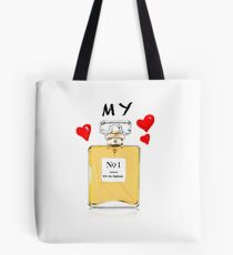 number one Tote Bag