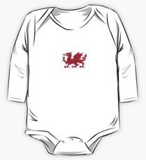 Welsh Flag Ribbon Dress Kids Clothes