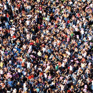 crowd  by cameronbarnett