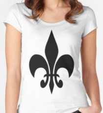 Amanda Cole Photography Fleur-de-lis Women's Fitted Scoop T-Shirt