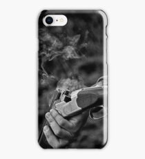 Gun smoke iPhone Case/Skin