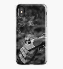 Gun smoke iPhone Case/Skin