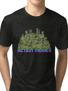 Action Movies Tri-blend T-Shirt