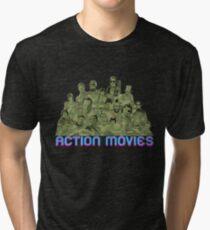 Action Movies Tri-blend T-Shirt