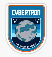 Cybertron NASA Patch Sticker